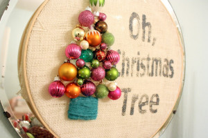 Making A Merry Christmas: Oh, Christmas Tree Wreath!