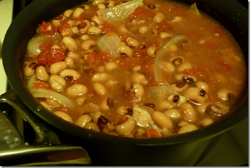 Quick And Easy Southern Style New Year's Black Eyed Peas!