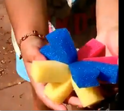 How To Make Spongeballs For Waterplay!