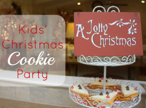 Kids' Christmas Cookie Party!