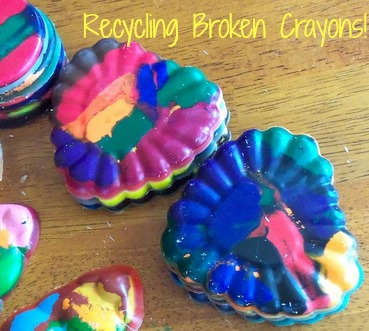 Recycling Broken Crayons
