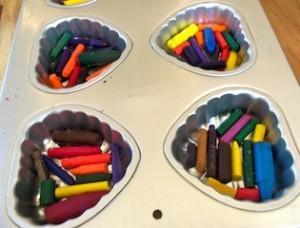 Renae's Corner: Recycling Broken Crayons!