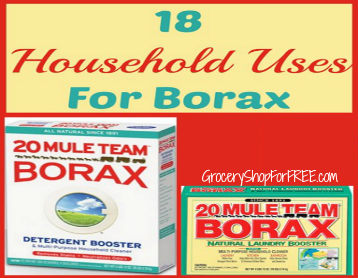 18 Everyday Uses For 20 Mule Team Borax!