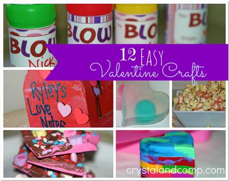 Valentine Crafts: 12 Easy Valentines for Kids!