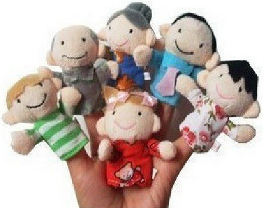 Family Finger Puppets Only $2.34 + FREE Shipping!