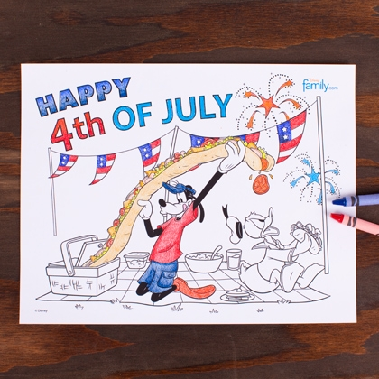 FREEbie: 4th of July Coloring Sheet!