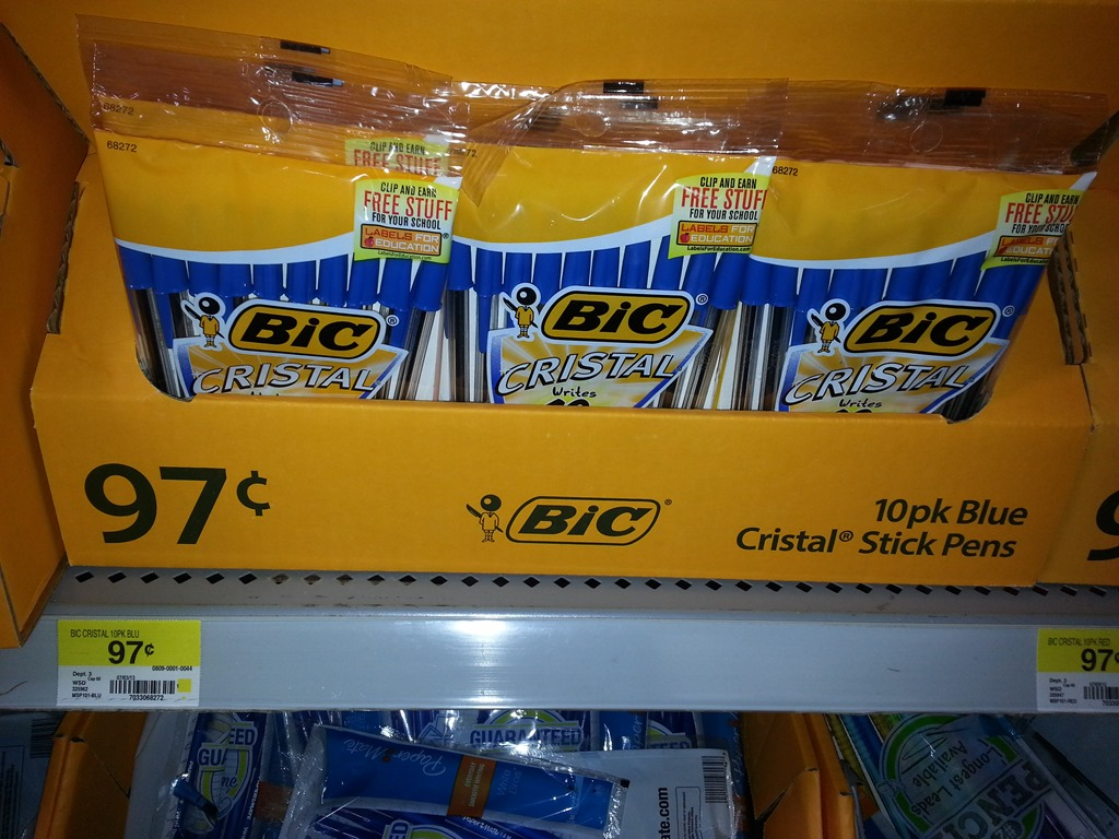 Walmart: FREE School Supplies PLUS Overage!