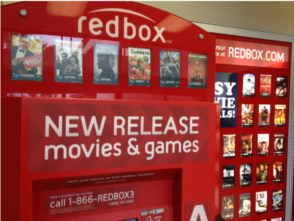 FREE Redbox Rental (Today Only)!