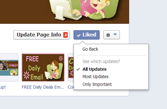 Missing Updates On Facebook?