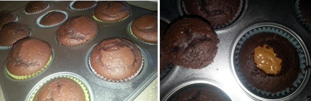 Reese's Peanut Butter And Chocolate Cupcakes!