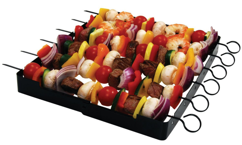 Shish Kabob Set with 6 Skewers Just $6.97 (Reg. $36.16)!