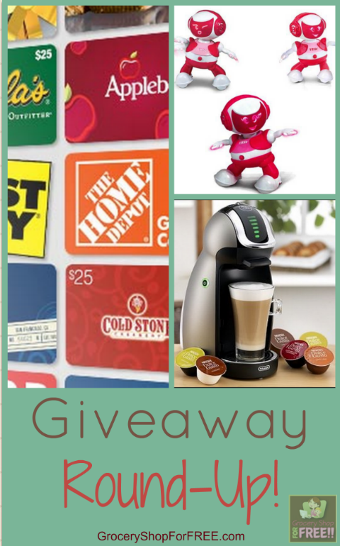 Giveaway Round-Up! Win Something!