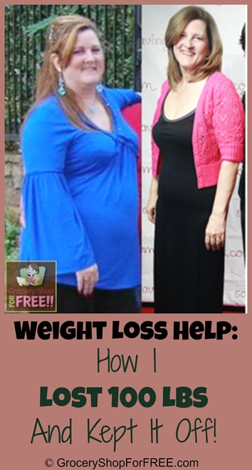 Weight Loss Help:  How I Lost 100 Lbs And Kept It Off!
