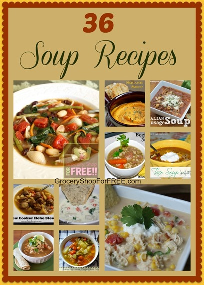 36 Soup Recipes Roundup!