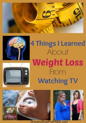 4 Things I Learned About Weight Loss From Watching TV!