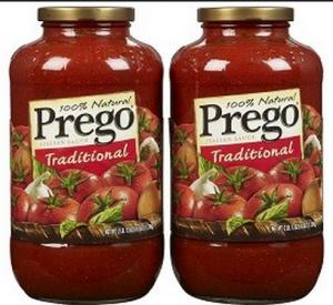 Recall: Prego Sauces!