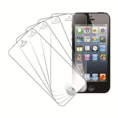5Pk Apple iPhone 5/5S/5C Screen Protectors Only $3.97 SHIPPED!