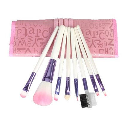 8-Piece Makeup Brush Set + Case Only $3.74 + FREE Shipping!