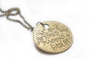 Love Beyond the Moon & Stars Pendant Necklace Only $0.69 SHIPPED!