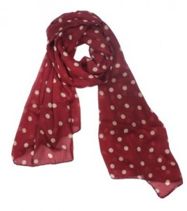 Polka Dot Scarf Just $2.59 + FREE Shipping!