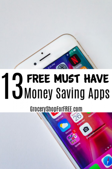 13 FREE Must Have Money Saving Apps