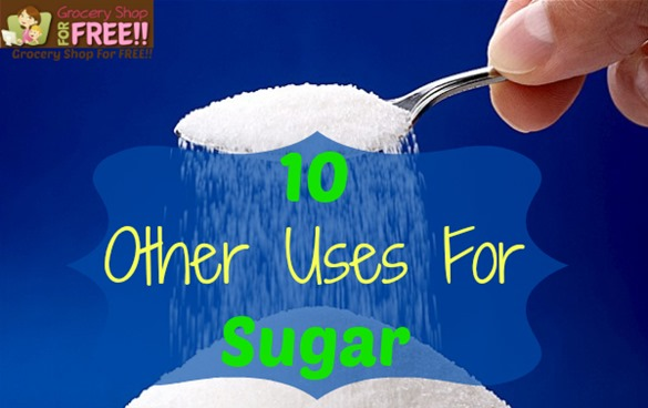 Check out these 10 Other Uses For Sugar. Other than eating of course :).