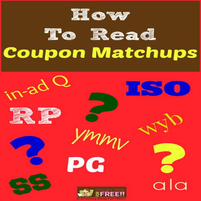 How To Read Coupon Matchups!