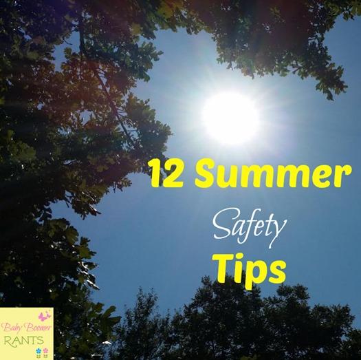 12 Summer Safety Tips