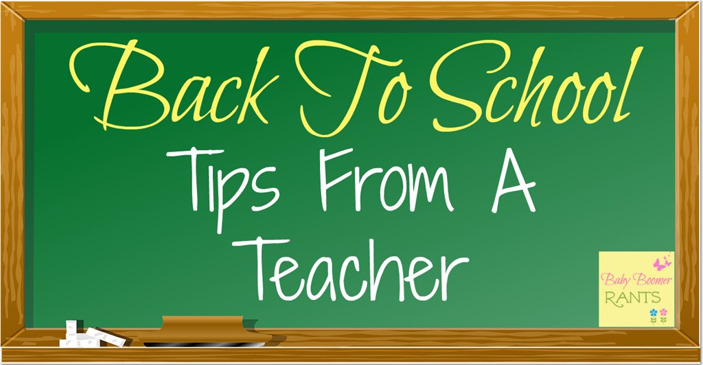 Back To School Tips From A Teacher