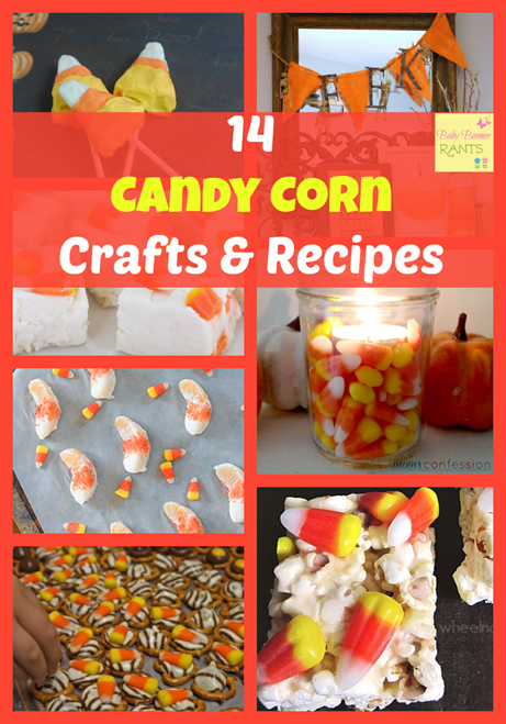 14 Candy Corn Crafts and Recipes