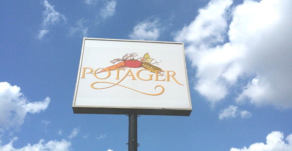 Potager Cafe In Arlington, Texas