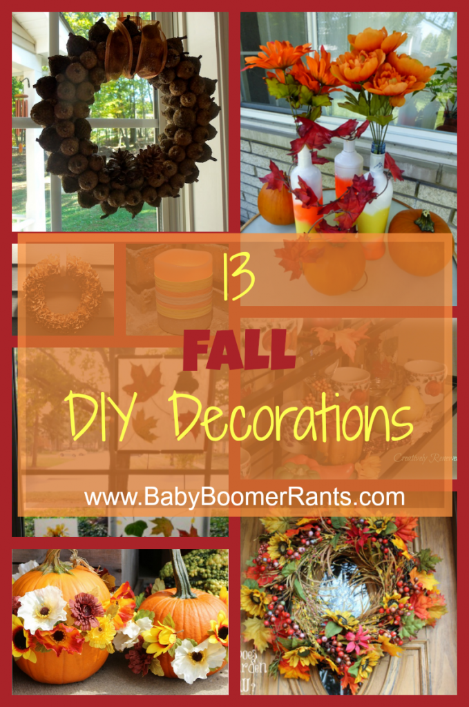 13 Fall DIY Decorating Ideas