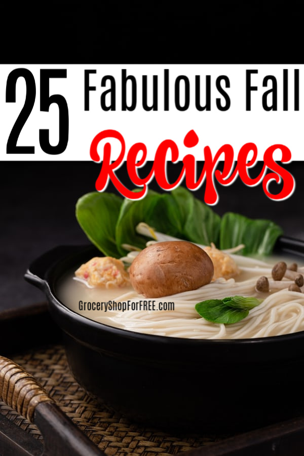 If you're looking for comfort foods, fall recipes, hearty soups, stews, or recipes to remind you of cooler weather,you've found them. Click through to get the recipes...