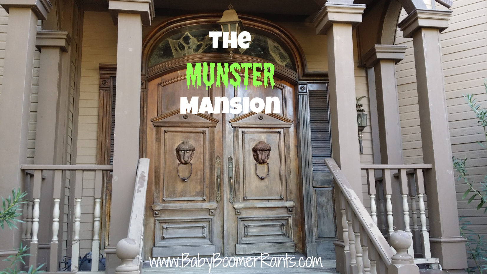 Tour Of The Munster Mansion
