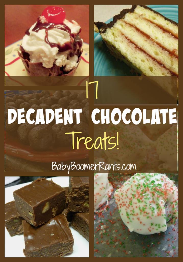 17 Decadent Chocolate Treats