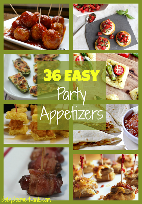 These Easy Party Appetizers will come in handy at any time of the year for any occasion.  From New Year's to 4th of July, and from family celebrations to Thanksgiving and Christmas, we have you covered!  Whether you are looking for easy savory or sweet appetizers, we have it!