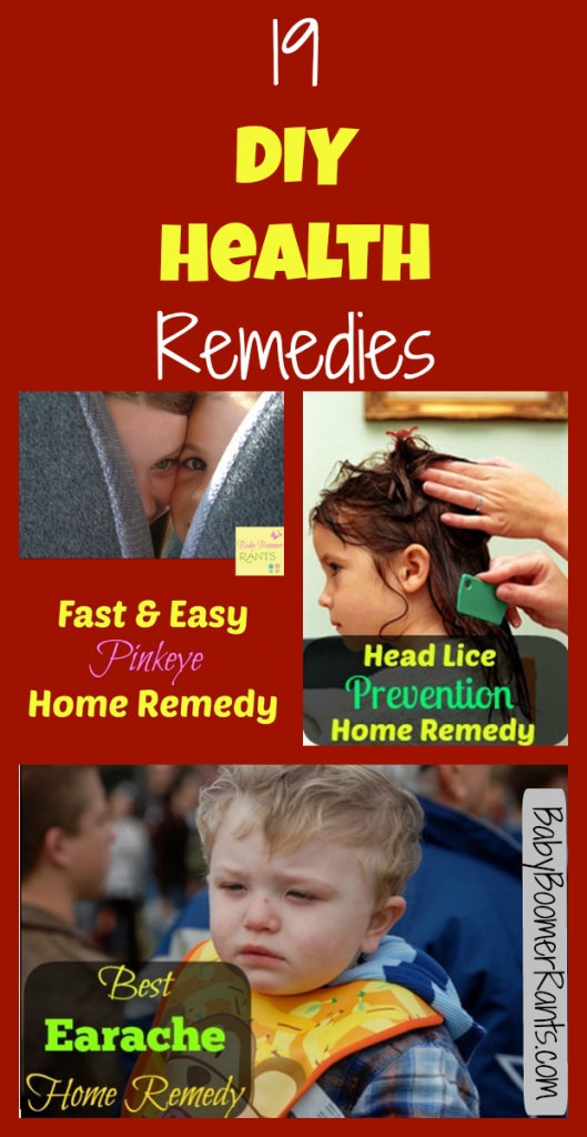 19 DIY Health Remedies