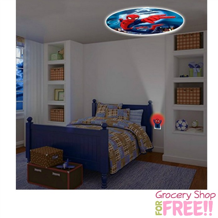 LED Marvel Spider-Man Projection Light