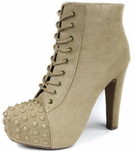Taupe Bootie
