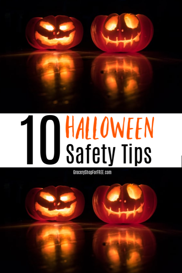 Everyone needs to be safe on Halloween and these 10 Halloween Safety Tips will help!  Click through to read them.