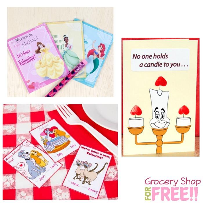 FREE Disney Valentine's Printables And More!