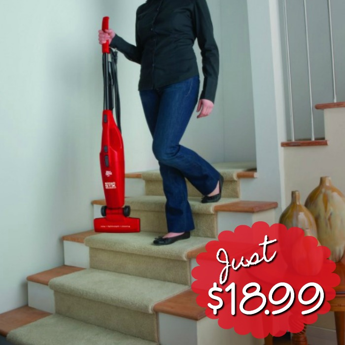 Dirt Devil Simpli-Stik Bagless Stick Vacuum Only $18.99! (Reg. $40)