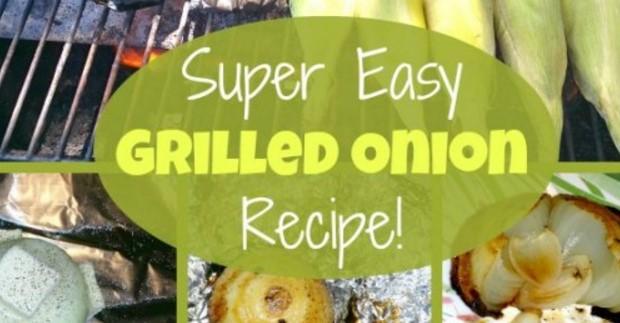 Super Easy Grilled Onion Recipe!