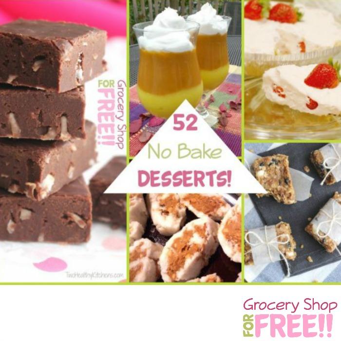 52 No Bake Desserts!