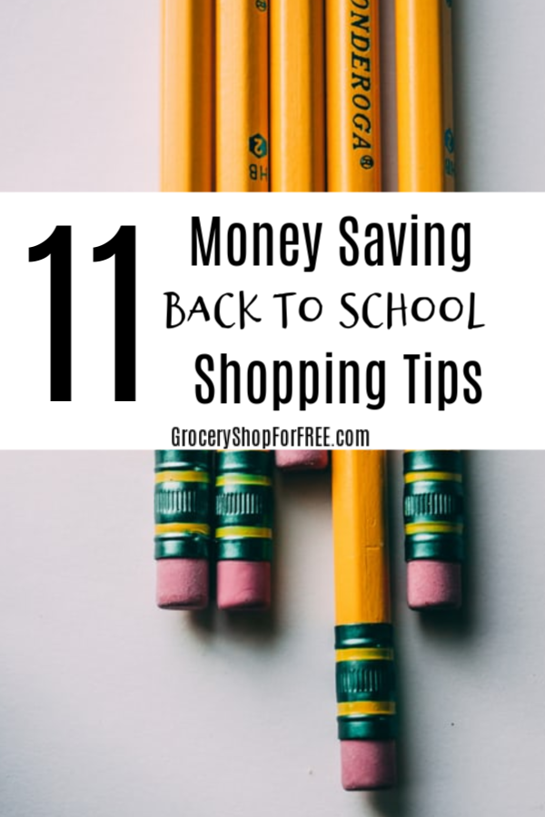 These Back To School Shopping Tips will have you and your students ready in no time, with less expense and hassle. Check out these less mess, no stress ideas.