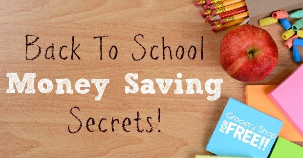 Secrets For Saving Money On School Supplies!