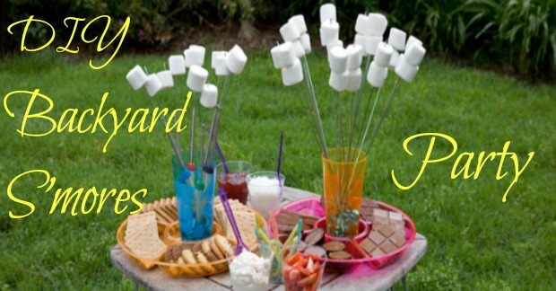 DIY Backyard S'mores Party