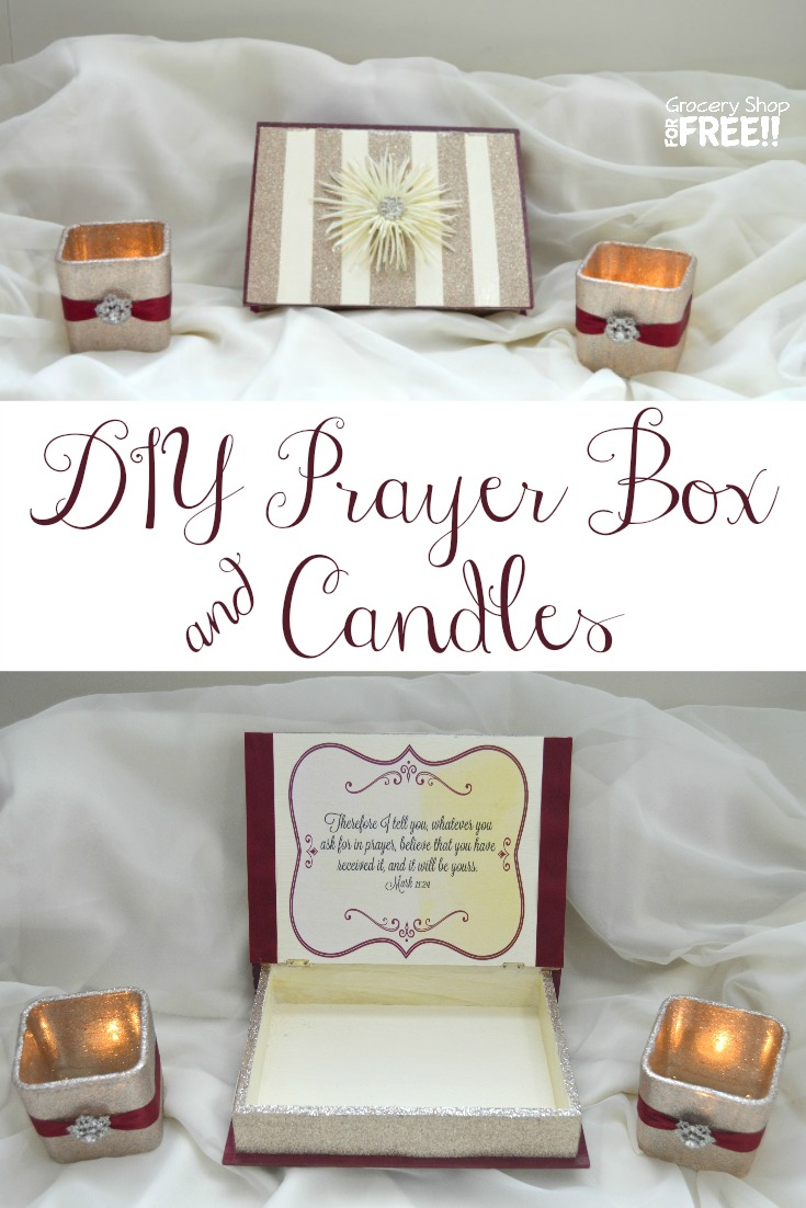 Diy Prayer Box & Candles