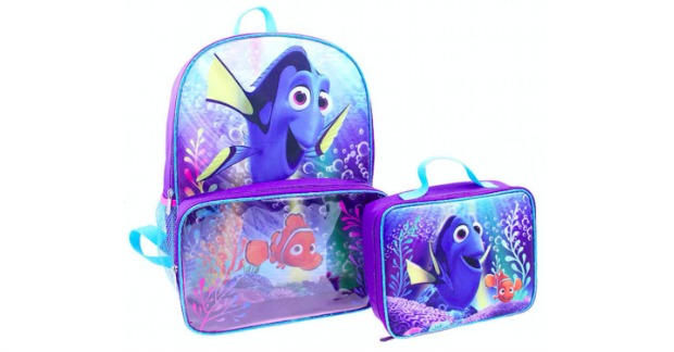 Finding Dory Kids Backpack & Lunch Bag Set