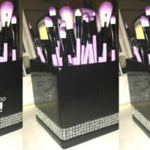 DIY Makeup Brush Or Pen & Pencil Holder!